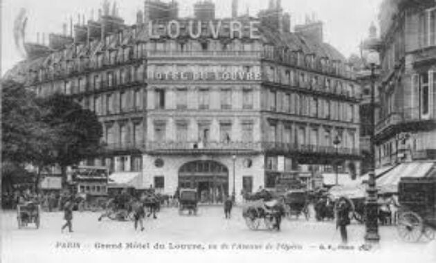 Sejarah Industri Perhotelan