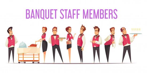 banquet-staff